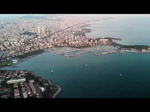 Istanbul from above: Drone Footage of Kadiköy