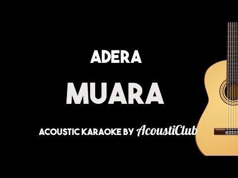Muara - Adera (Karaoke Gitar Akustik dengan Lirik)