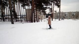 Физкультура на лыжах. Семейное обучение 2 класс