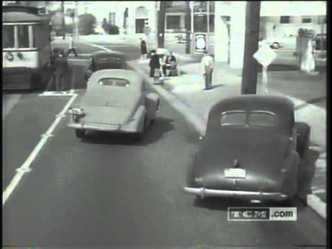 1940's Traffic Safety Film
