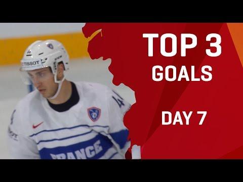 Top 3 Goals - Day 7 - #IIHFWorlds 2017 - 동영상