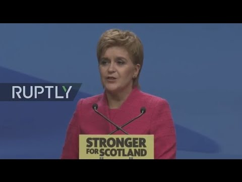 LIVE: Sturgeon gives closing address at SNP spring conference
