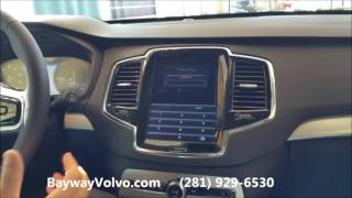 2016 Volvo XC90 Glove Compartment Features