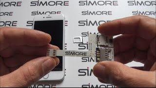 iPhone 7 - How to use 3 SIM cards in your iPhone 7 with Triple Dual SIM adapter 4G WX-Triple 7