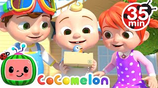 Itsy Bitsy Spider Song + More Nursery Rhymes \u0026 Kids Songs - CoComelon