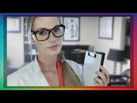 ASMR Dr. QUINZEL ROLE PLAY INKBLOT TEST