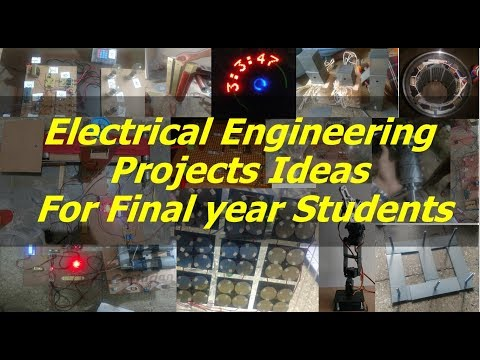 Most Challenging 100+ Electrical Engineering (EEE) Projects Ideas 2017