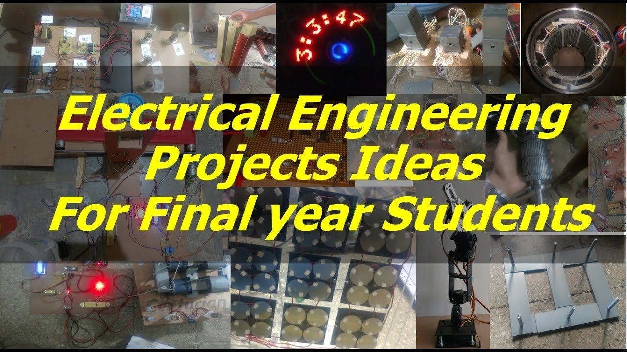 Most Challenging 100+ Electrical Engineering (EEE) Projects Ideas ...