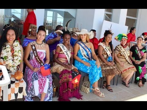 Miss Pacific Islands Pageant ~ Float Parade ~ Kingdom of Tonga