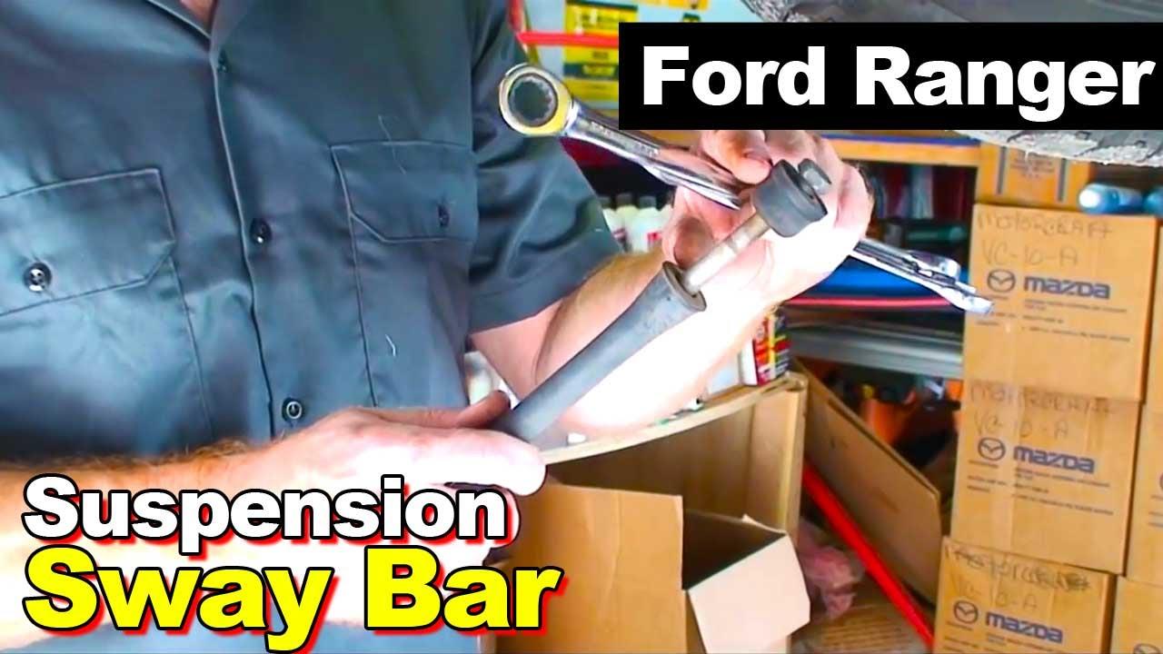 sc 1 st  YouTube & 2003 Ford Ranger Sway Bar - YouTube markmcfarlin.com