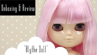 unboxing review   my first blythe icy tbl doll