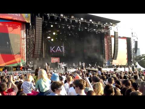 Katy B Feat. Mark Ronson - Anywhere In The World - Coke Olympic Torch Relay - Hyde Park
