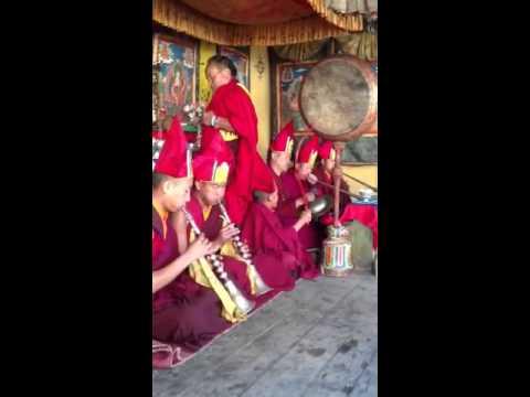Larry post filming a monk ceremony in Bhutan