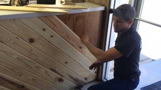 Go Rustic - Tongue and Groove Interior Siding