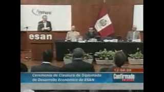 Diplomado en Gerencia de Desarrollo Económico Local y Regional - 2008 - Universidad ESAN - Perú