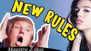 Trump Sings New Rules by Dua Lipa /NOW ON iTUNES thumbnail