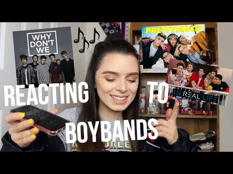 REACTING TO BOYBANDS?! Why Don't We, PRETTYMUCH & In Real Life