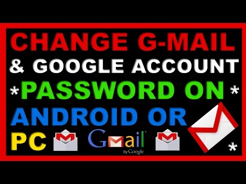 How To Change GMail Or Google Account Password On Android Mobile Phone Or PC/Computer?