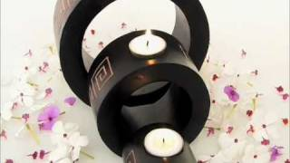 Three Circle Candle Holder by Kalistah.com