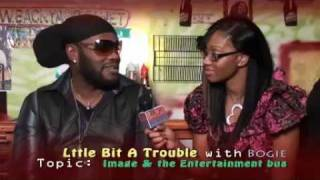Bogie Hosts Backyard tv - Dancehall Reggae Talk Show - Topic: Image