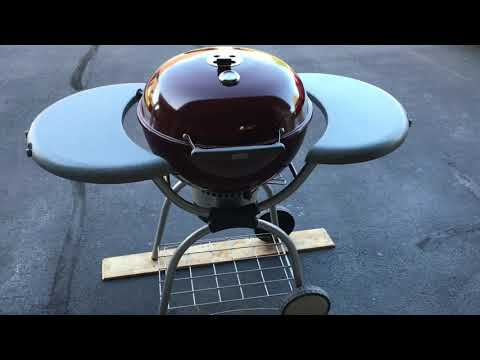 Sam's Club Sirloin Burgers On The Weber Platinum One Touch Using The Arteflame Griddle!