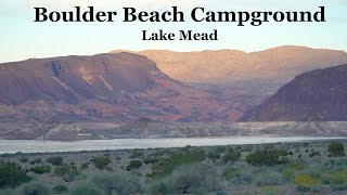 WHERE TO CAMP IN LAS VEGAS | LAKE MEAD | BOULDER BEACH CAMPGROUNDS
