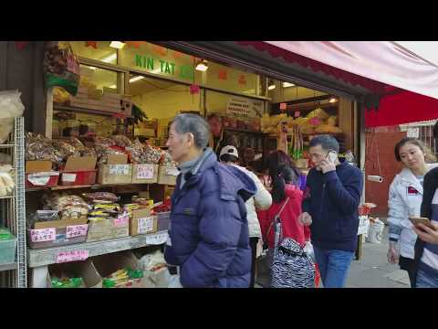 Walking in Chinatown, San Francisco  Part 1 FHD 1080p