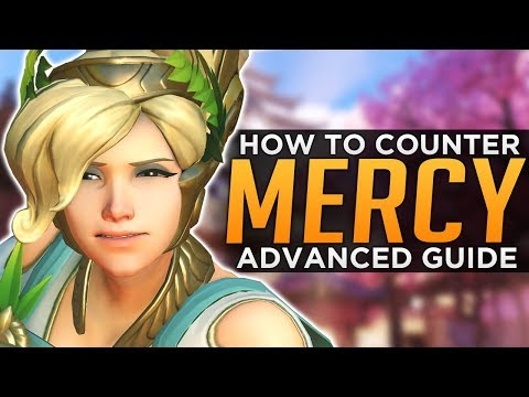 Overwatch: How to COUNTER Mercy 2.0 - Advanced Guide