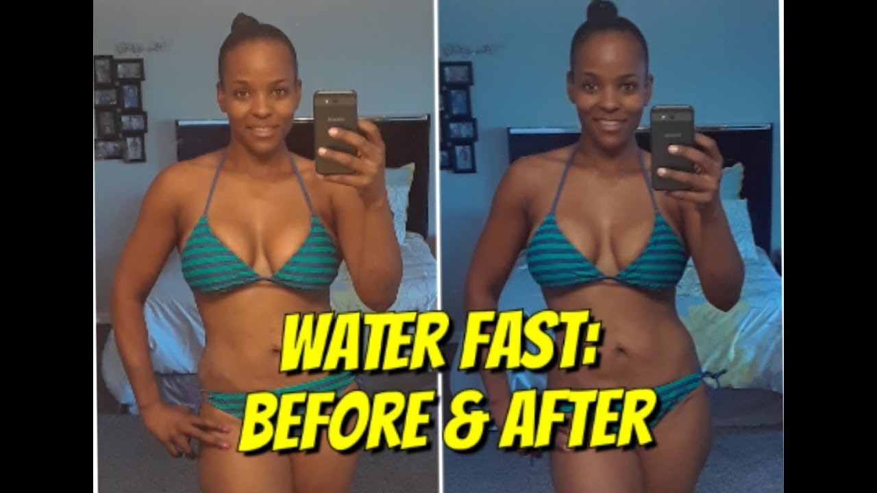 7 Day Water Fast  F0 9f 98 Aftotal Fail Daily Vlogs Before After Pics