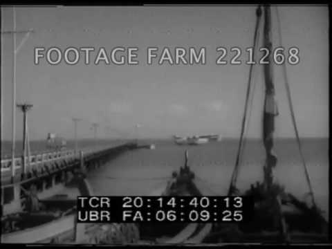 Portugal 1942, Lisbon Harbor Activity - 221268-14 | Footage Farm