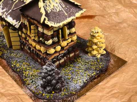 Casetta Di Natale Di Cioccolato : La casetta di cioccolato youtube
