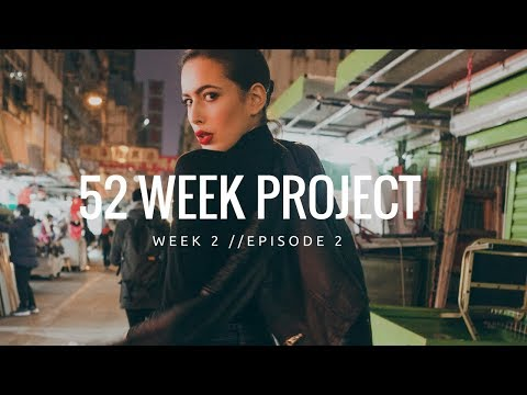52 WEEK FASHION PHOTO PROJECT // Fashion Photography Series // WEEK 2 EPISODE 2