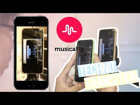 MUSICAL.LY TRANSITION TUTORIAL | TECHNO TRANSITION | RenielR