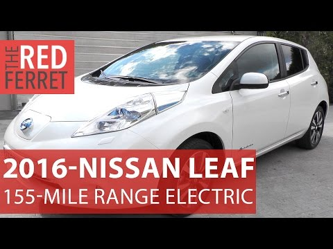 2016 Nissan Leaf 30Kwh Extended Range - new 155 mile electric car on test [Review]