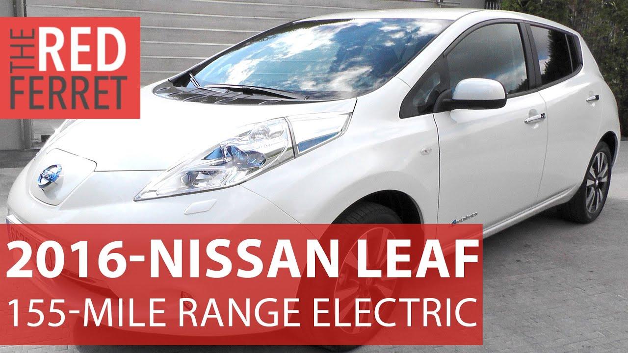 Nissan Leaf Extended Range New Mile Electric Car