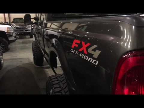 Lifted 2005 Ford F - 250 Powerstroke Diesel for sale