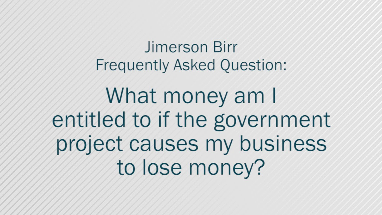 Eminent Domain LawJimerson Birr Law Firm