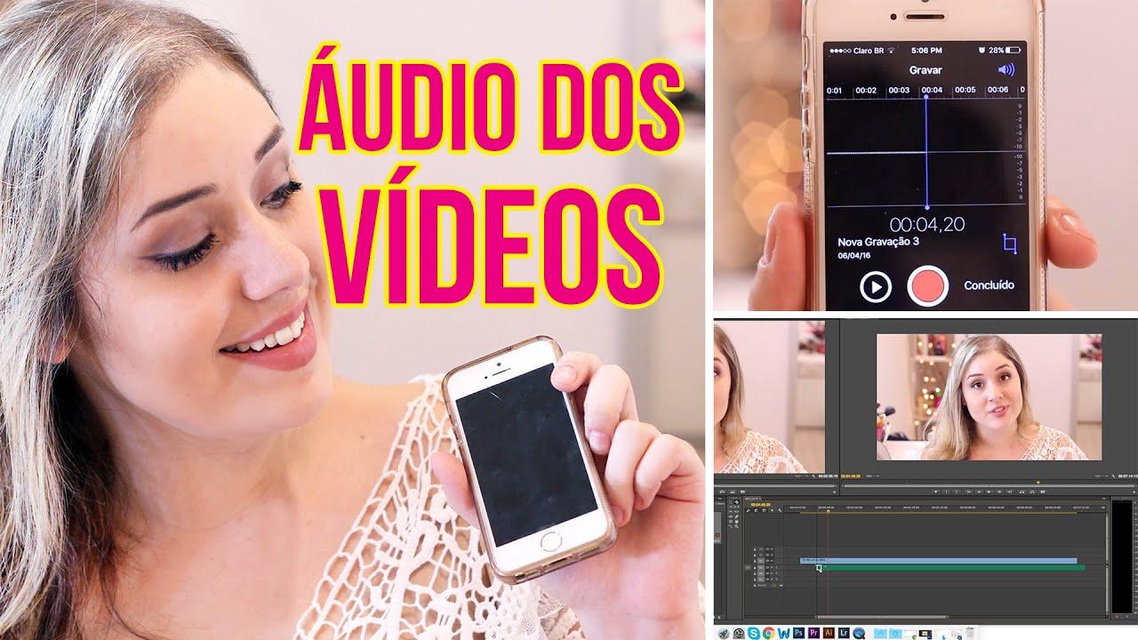 MICROFONE DO CELULAR PARA GRAVAR VÍDEOS - Dicas para Youtubers