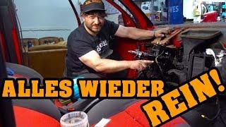 VW TOTALSCHADEN! 🛠 ALLES WIEDER REIN! 🛠 #VW #RESTAURIEREN #MRDOIT