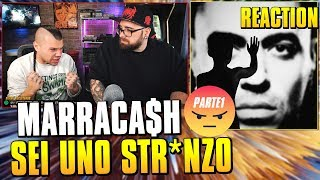 Marracash - Persona ( disco completo pt1 ) * REACTION * Arcade Boyz