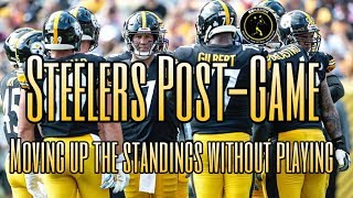 Steelers Post-Game: Breaking down how the Steelers moved up the standings with a bye