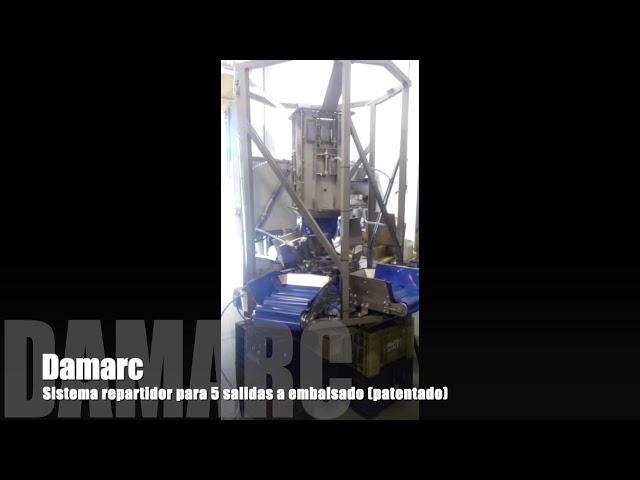Sistema Repartidor para 5 Salidas Damarc | Maquinaria Prepacking