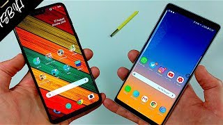 Samsung Galaxy Note 9 vs OnePlus 6!