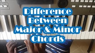 Difference Between Major And Minor Chords - Piano Lesson Mp3