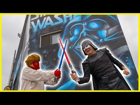 Maskarin Trabaja De Lavacoches En Star Wars   ¡Increíble! 😱
