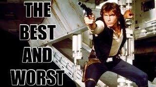 THE BEST AND WORST OF STAR WARS