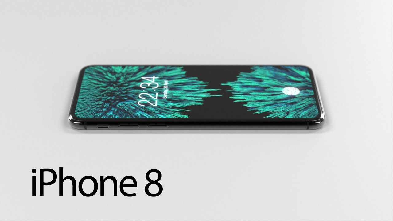 iphone 8 concept design. iphone 8 concept - unofficial iphone design