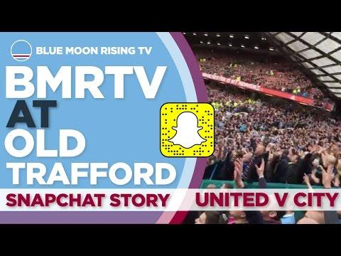BMRTV Snapchat Story | Manchester United 0-0 Manchester City