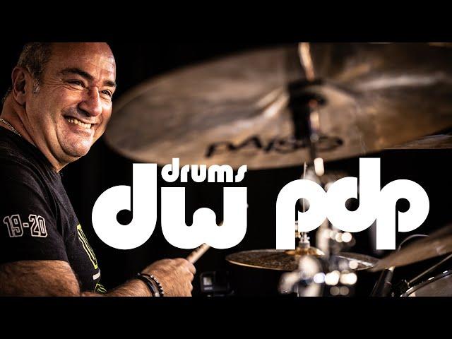 Démo et interview de Philippe Giraud - DW drums