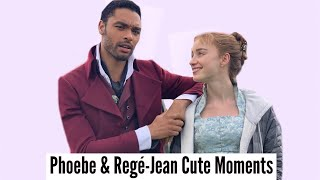 Phoebe Dynevor & Regé-Jean Page | Cute Moments